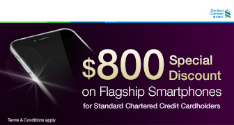 SIM Only Customer Smartphone Offer for Standard Chartered Credit Cardholders