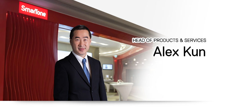Head of Products & Services - Alex Kun