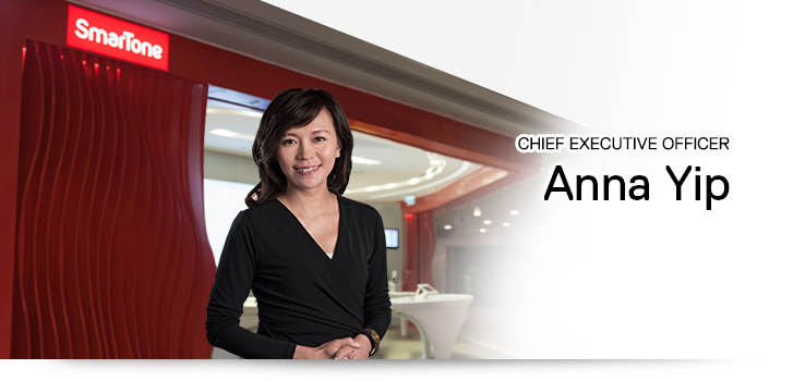 Chief Executive Officer - Anna Yip