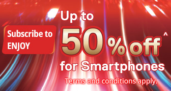 Up to 50% off on Smartphones on Subscription Offers